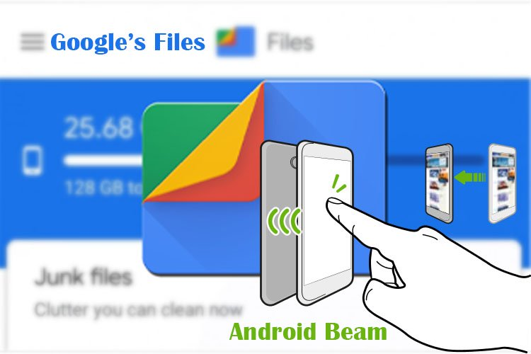 Android Beam &Google's Files