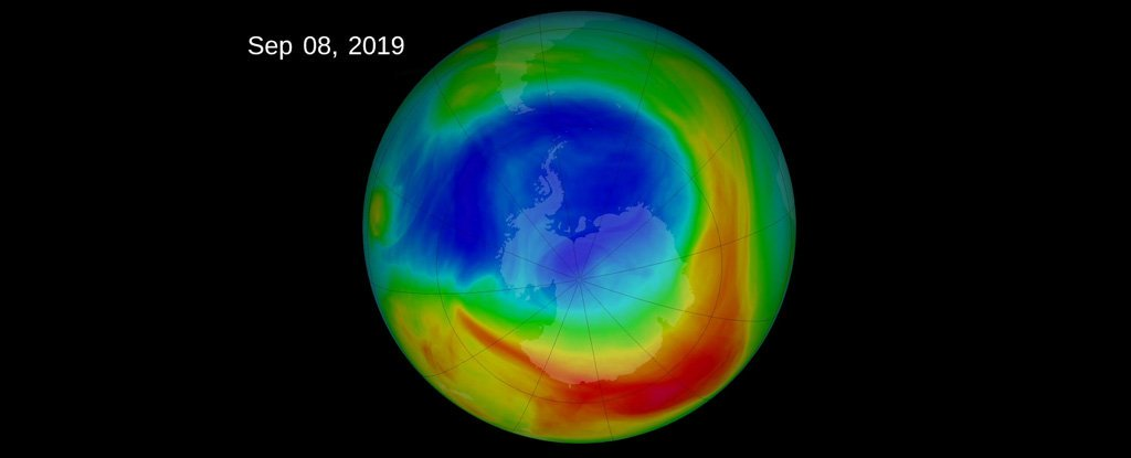 ozone layer healing cover
