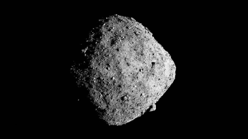 Boulders on asteroid Bennu shed new light on the space x