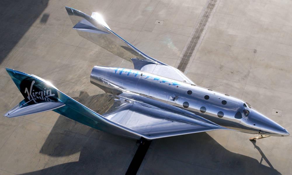 Virgin Galactic Just Unveiled the VSS Imagine the First Spaceship in Their Fleet x