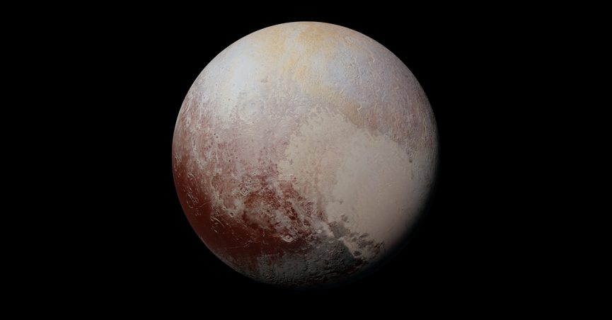 pluto reclassified planet feature x