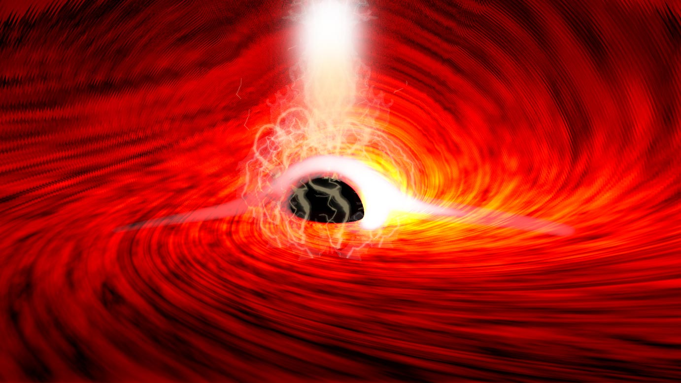 Bright Flares of X ray Emissions Supermassive Black Hole