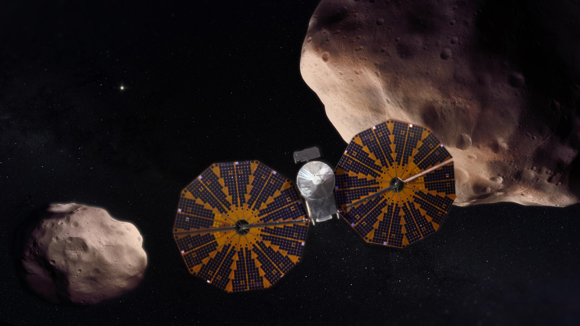 Lucy Trojan Asteroid Mission